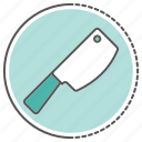 butcher, chef, equipment, food, healthy, vegetable icon