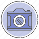 camera, image, movie, record icon