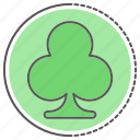clever, clover, four, leaf, luck, patricks, shamrock icon
