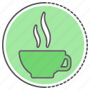 beverage, coffee, glass, mug icon