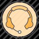 audio, ear, headphone, headphones, sound icon