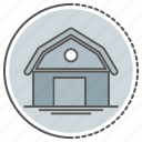 building, farm, house icon