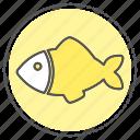 animal, fish, fishing, food, ocean, sea, seafood icon