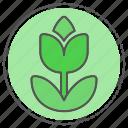 floral, flower, garden, nature icon