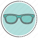 eyeglasses, glasses, spectacles, sunglasses icon