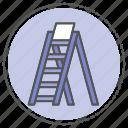 equipment, hardware, ladder icon