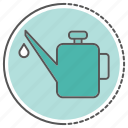 bottle, equipment, lubrication, water icon