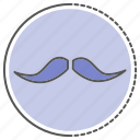 avatar, fashion, hipster, mustach, mustash icon