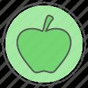 appel, dessert, health, healthy icon