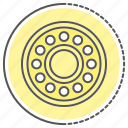 bearings, car, equipment, parts, tool icon