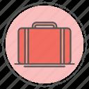 briefcase, business, portfolio, suitcase icon