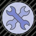 repair, repairing, service, services icon