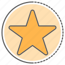 award, bookmark, favorite, rating, star, vote icon