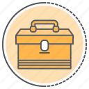 bag, equipments, toolboxes, tools icon