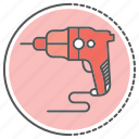 equipment, pneumatic, power, tool, tools icon