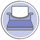 equipment, type, write, writer icon
