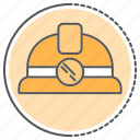 approved, equipment, security, tool, underground icon