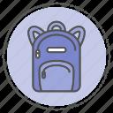 bag, case, school, suitcase icon