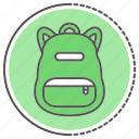 bag, learning, school, suitcase icon