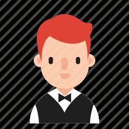 boy, career, costume, job, man, occupation icon