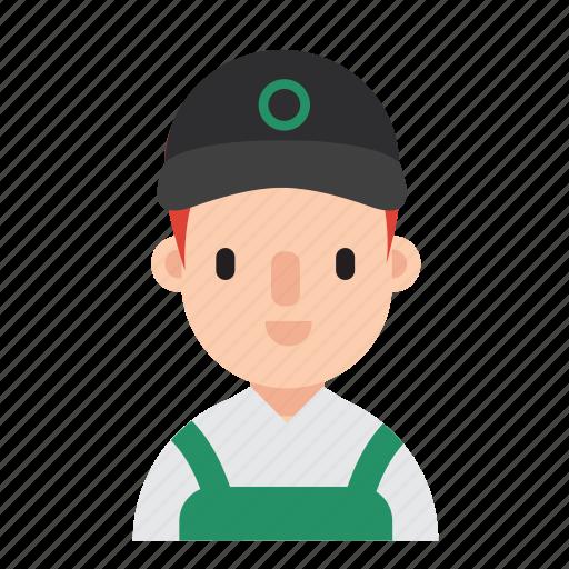 boy, career, costume, job, man, occupation, waiter icon