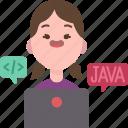 programmer, developer, technician, coding, software