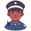 avatar, career, male, occupation, people, person, police icon