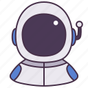 astronaut, occupation, person, man, avatar, people, career