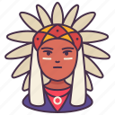 male, person, man, avatar, american indian, history, people