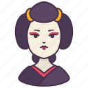 japanese, female, geisha, person, girl, avatar, people
