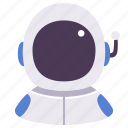 astronaut, avatar, career, man, occupation, people, person icon