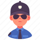 avatar, guard, male, man, occupation, person, security icon