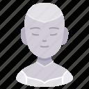 andrioid, artificial, avatar, innovation, intelligent, robot, space