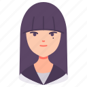 avatar, girl, japanese, people, person, sailor, student icon
