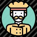chef, cook, gourmet, kitchen, restaurant icon