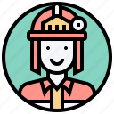 burn, emergency, fire, firefighter, rescue icon