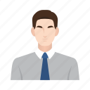 business man, employee, job, man, occupation, people, worker icon