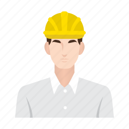 business man, construction, job, man, occupation, people, worker icon