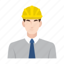 business, construction, job, man, occupation, people, worker icon