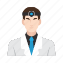 dental, dentist, doctor, job, man, medical, occupation icon