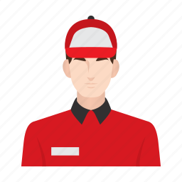 courier, delivery, delivery boy, job, man, occupation, people icon