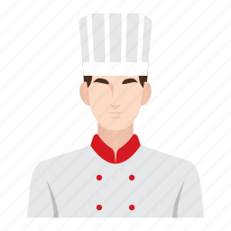 chef, cooking, food, job, man, occupation, people icon