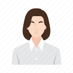 business, female, job, occupation, people, woman, worker icon
