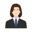 boss, business, employer, job, occupation, people, woman icon