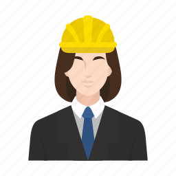 boss, business, construction, job, occupation, people, woman icon