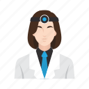dental, dentist, job, medical, occupation, people, woman icon