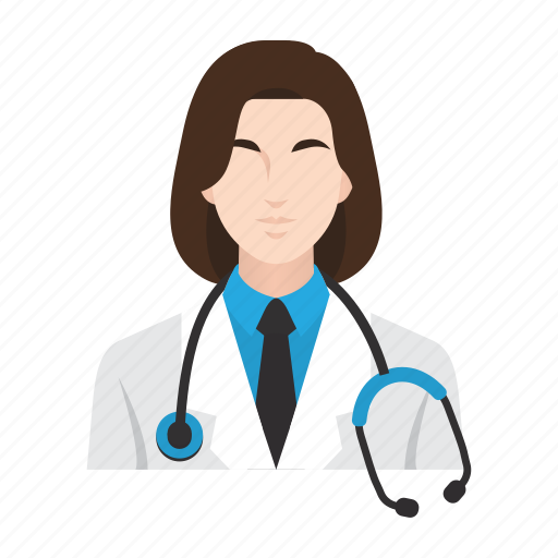 doctor, job, medical, occupation, paramedical, people, woman icon