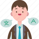 translator, languages, interpreter, expert, professional