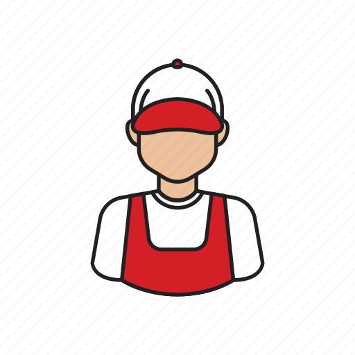 delivery, delivery man, job, occupation, profession icon