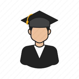 graduation, job, occupation, profession icon